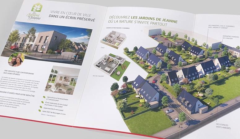 Création : plaquette – dépliant – mailings – signalétique – page web – street marketing pour NEXITY – Agence Linéal