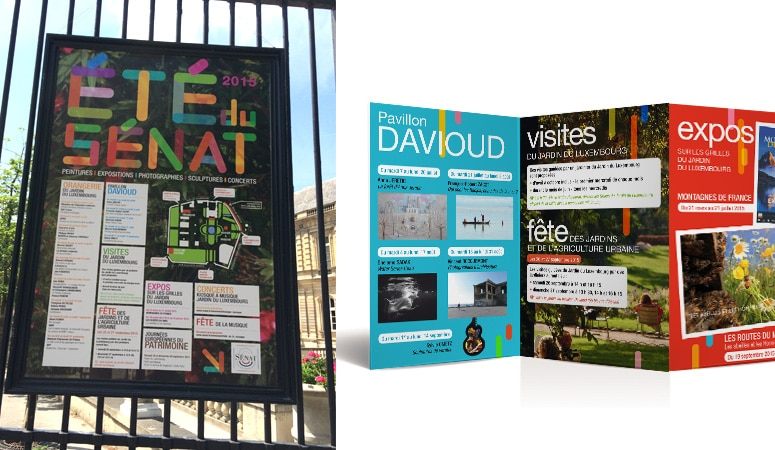 SÉNAT : Prise en charge de la communication événementielle du Palais du Luxembourg - Agence Linéal
