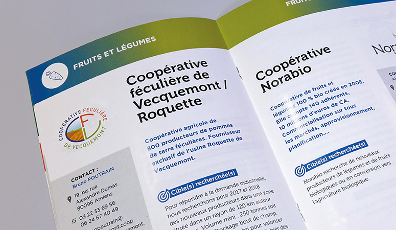 FORUM DES OPPORTUNITÉS : Élaboration du concept de communication et des supports associés pour le salon - Agence Linéal