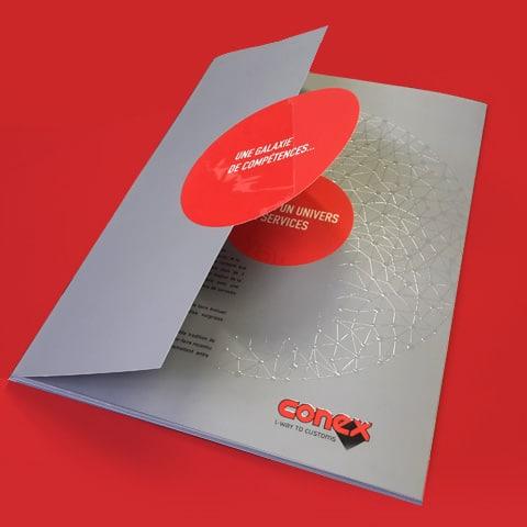 CONEX : Accompagnement stratégique et opérationnel dans la communication institutionnelle et produits - Agence Linéal