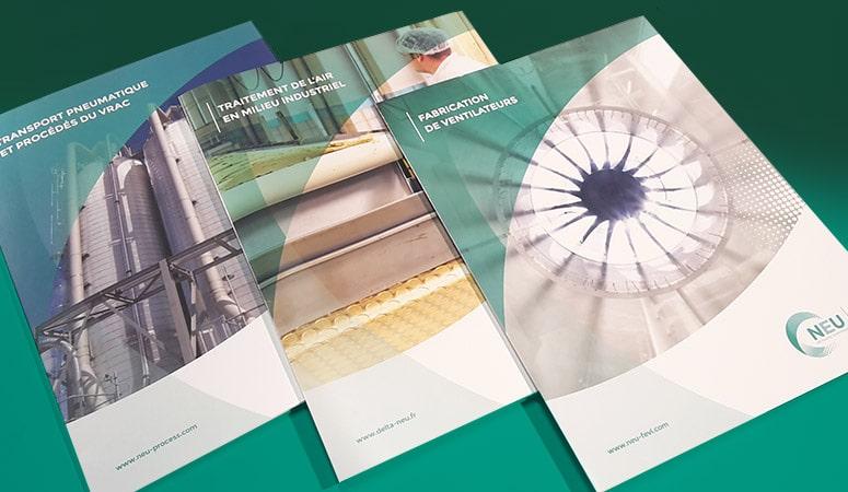 Création : Print pour DELTA NEU – Agence Linéal