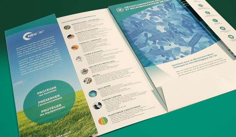 DELTA NEU : Un accompagnement éditorial - Agence Linéal