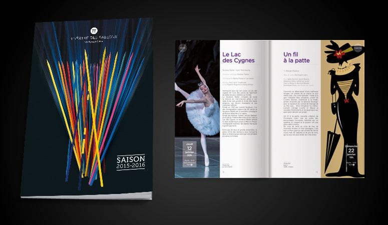 THÉÂTRE DES SABLONS : Réalisation des documents de programmation du Théâtre des Sablons - Agence Linéal
