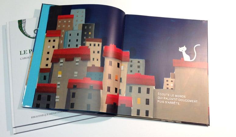 Création : design – édition pour la BIBLIOTHÈQUE DE LA SOMME – Agence Linéal