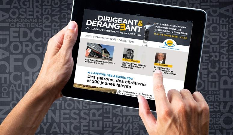 Création : concept – campagne – édition – plaquette – lettrenews – e-mailing – bannière – signalétique pour EDC – Agence Linéal