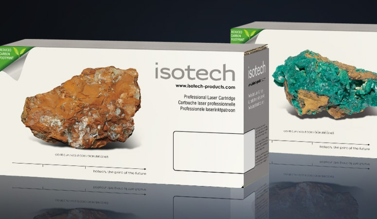 Création : naming – logo – concept – packaging pour ISOTECH – Agence Linéal