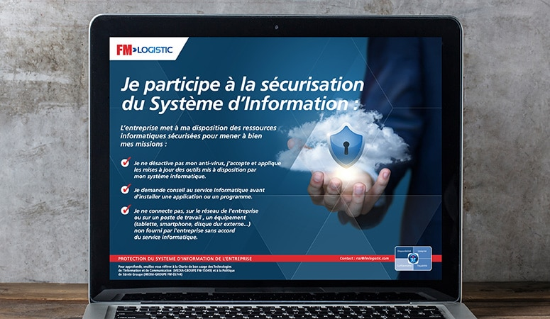 Création : Campagne digitale pour FM LOGISTIC – Agence Linéal