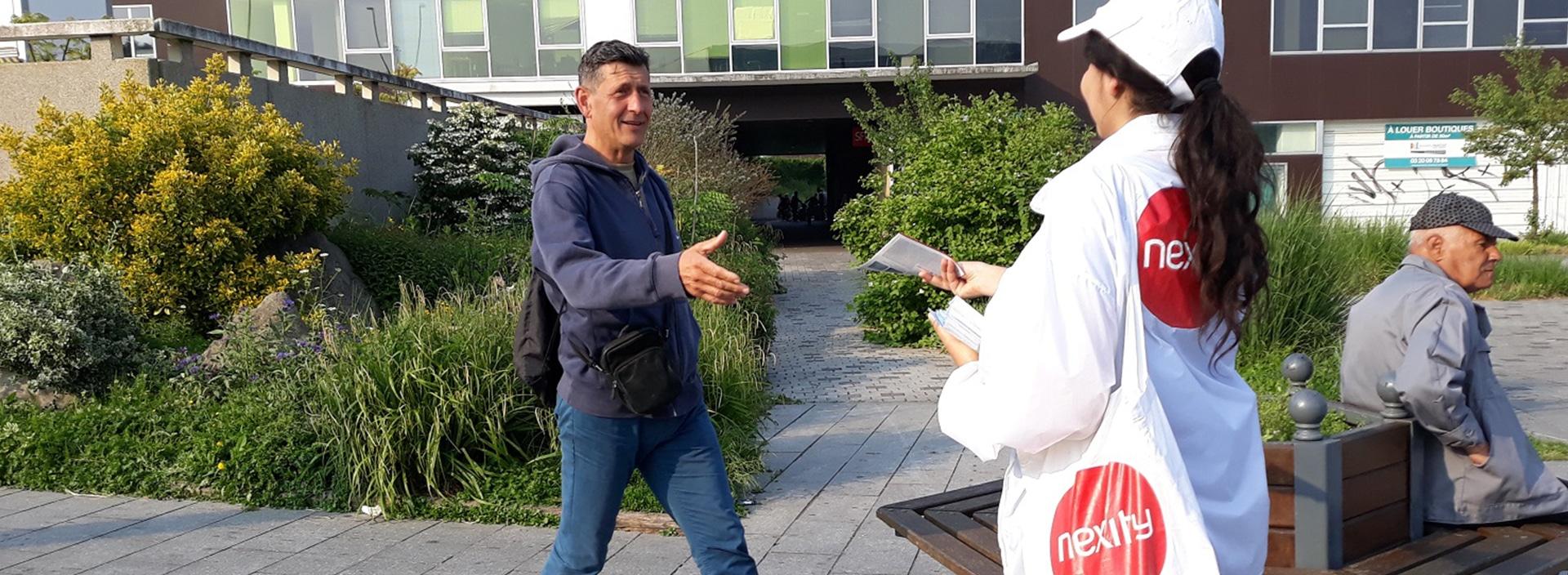 NEXITY : Campagne de lancement de programme de commercialisation immobilier - Agence Linéal