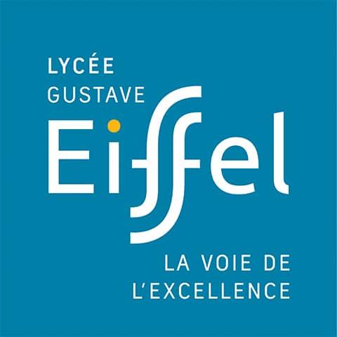 Création : Logo – Plaquettes – Kakemonos – Site web pour le LYCEE EIFFEL : Agence Linéal